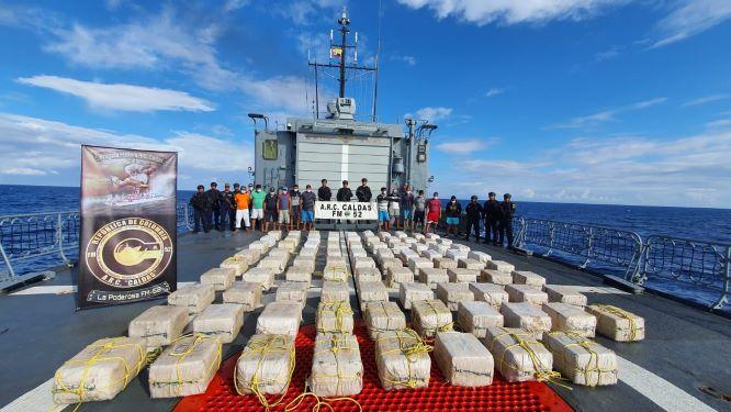 Incautan más cocaína en San Andrés islas y Cartagena de Indias.