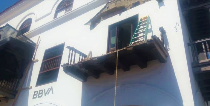 Ordenan el cierre de tres calles en el Centro Histórico de Cartagena.