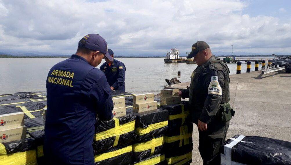 Caé cargamento de contrabando en el Golfo de Urabá