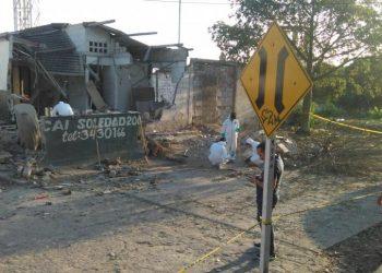 Otro atentado con explosivos a Policías en Barranquilla
