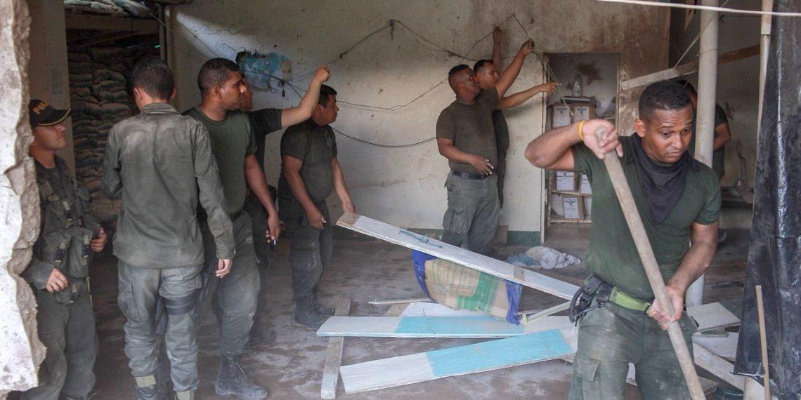Con explosivos y disparos de fusil atacan Policías en el Sur de Bolívar