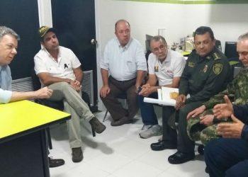 A los responsables de atentado en Barranquilla, les caerá todo el peso de la ley: Presidente Santos