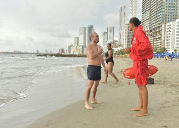 Abren convocatoria para cuerpo de Salvavidas en Cartagena