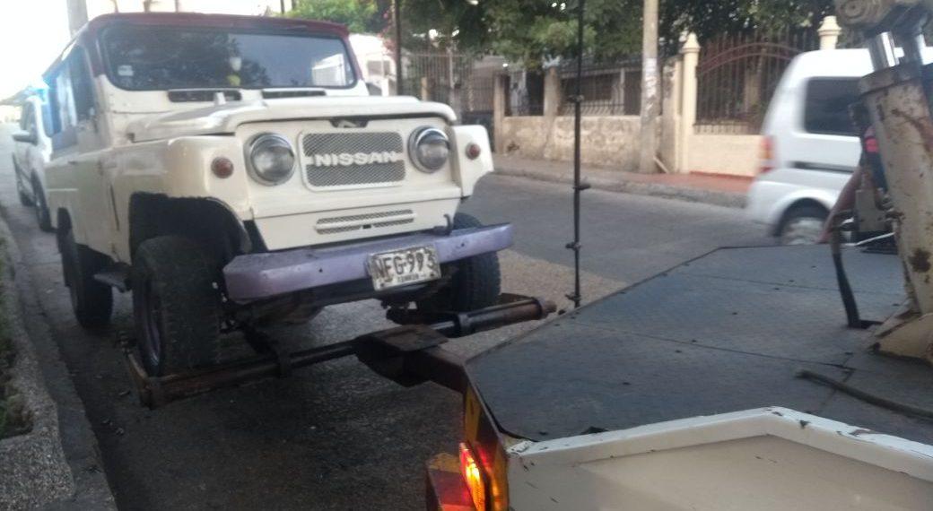 DATT continúa con operativos para ponerle freno al transporte informal