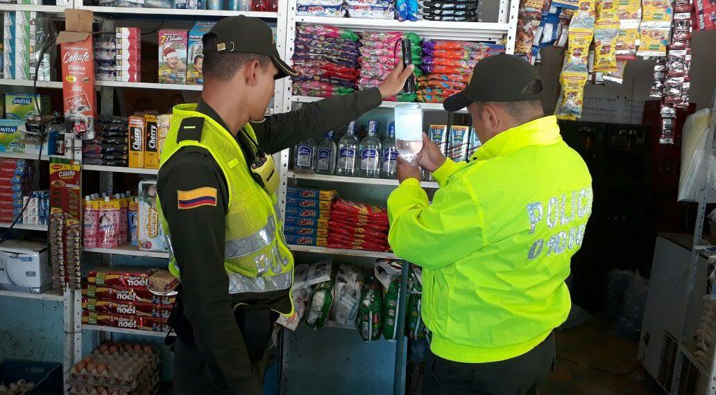 Continúan operaciones para evitar venta de licor adulterado y de contrabando en Bolívar