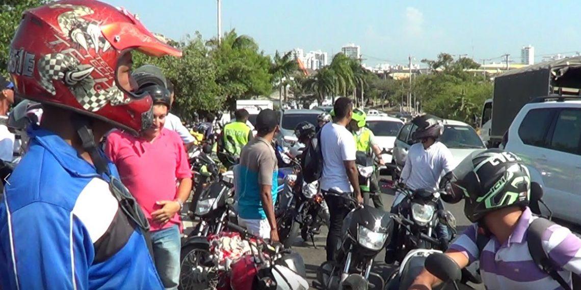 Cartagena de Indias tiene 66 mil 903 motocicletas que aumentan la accidentalidad