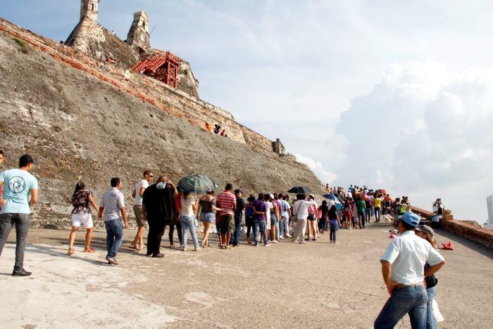 Este domingo entrada gratis a las fortificaciones de Cartagena