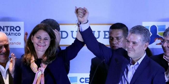 Marta Lucía Ramirez, fórmula vicepresidencial de Iván Duque