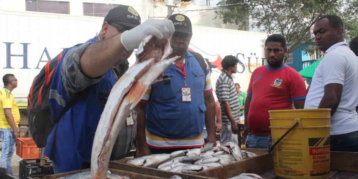 Vigilancia y control en Cartagena para evitar consumo de pescados en mal estado
