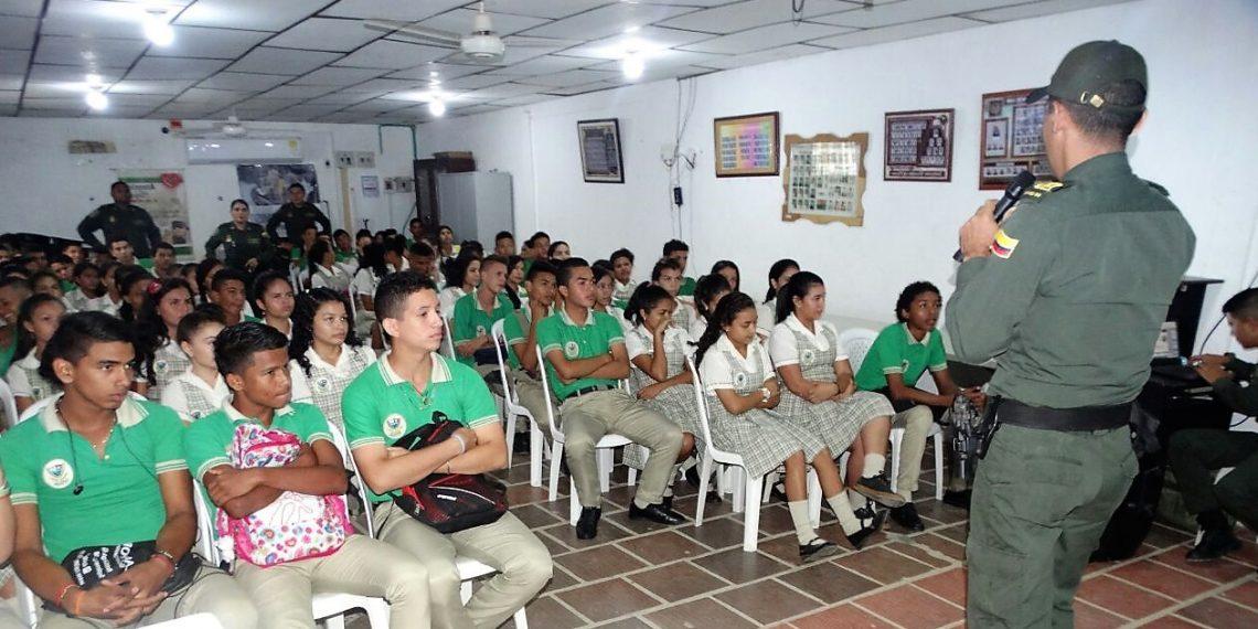 Continúa socialización del Código Nacional de Policía en Bolívar.