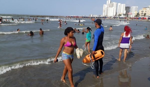 Cero ahogados en playas de Cartagena durante temporada de Semana Santa.