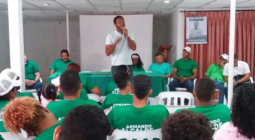 Partido Alianza Verde ratifica apoyo para Armando Córdoba.