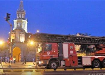 «Cartagena de Indias tiene un déficit de 127 bomberos» Barrios.