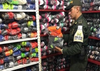Incautan calzado de contrabando avaluados en más de $113 millones.