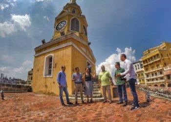 $78 millones se invirtieron en la restauración del Reloj de la Torre en Cartagena.