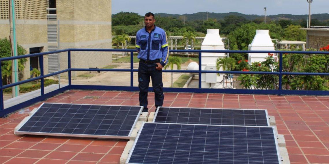 Aguas de Cartagena pone en marcha otro proyecto con energía renovable.
