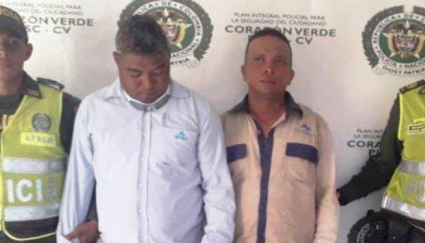 Capturan dos hombres que se hacían pasar como empleados de Aguas de Cartagena.