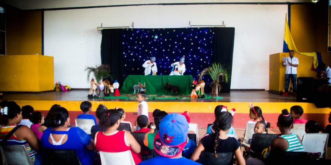 Navidad con títeres y teatro en 27 barrios de Cartagena.