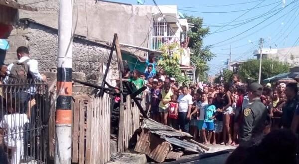 Incendio en un barrio de Cartagena dejó una bebé muerta.