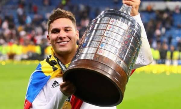 Quintero, el gran protagonista del título de River Plate frente a Boca Juniors.