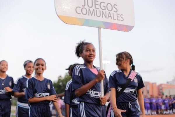 En Cartagena arrancaron los Juegos de Integración Comunitaria y de la Inclusión Social.