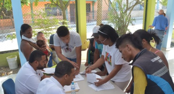 Arrancó jornada de identificación a migrantes venezolanos en Cartagena.