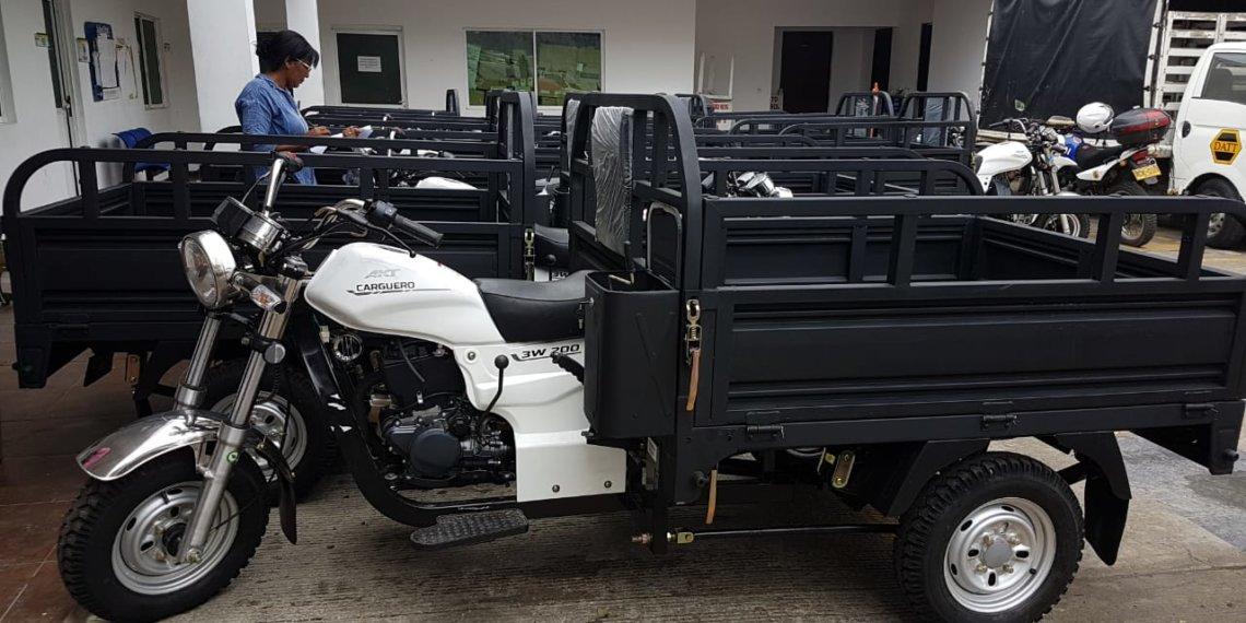 El Datt retomó el proceso de sustitución de los vehículos de tracción animal en Cartagena.