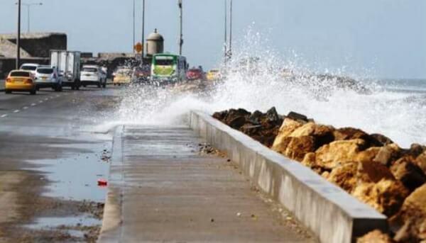 La Ungrd prepara cronograma de obras de protección costera en Cartagena.