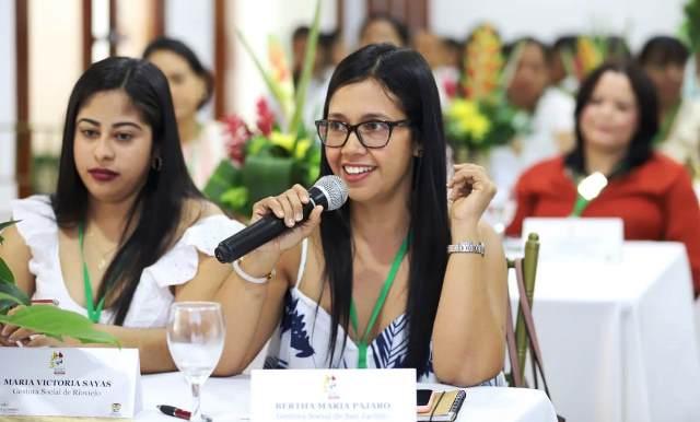 III Cumbre de Gestoras Sociales en Bolívar.
