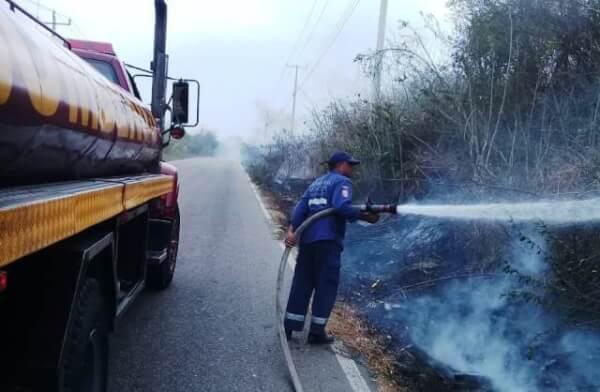 Aumenta el número de incendios forestales en Cartagena.