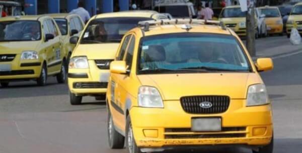 Comienza nuevo pico y placa para taxis en Cartagena.