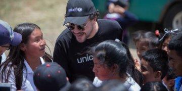 Andrés Cepeda, embajador de buena voluntad de UNICEF.