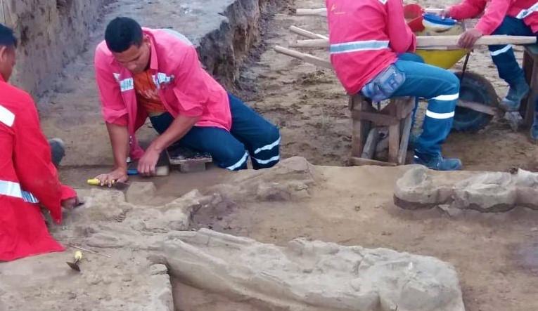 Piezas arqueológicas halladas en Magangué, Bolívar son trasladadas para el Atlántico.