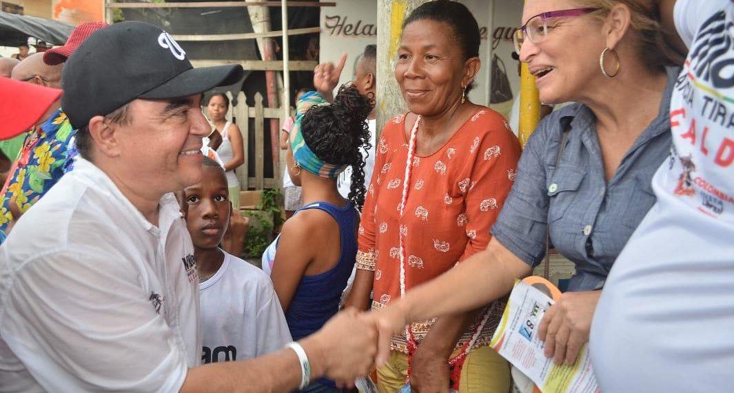 «A los ataques vamos a responder con más presencia en la calle» William García.