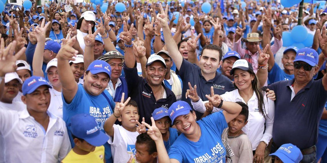 Vicente Blel consolida respaldo en el sur de Bolívar.