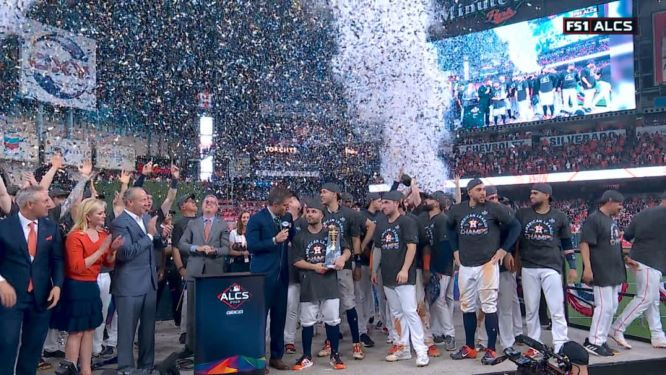 """""""Súper Astros"""" liquidan a Yankees de Nueva York."""