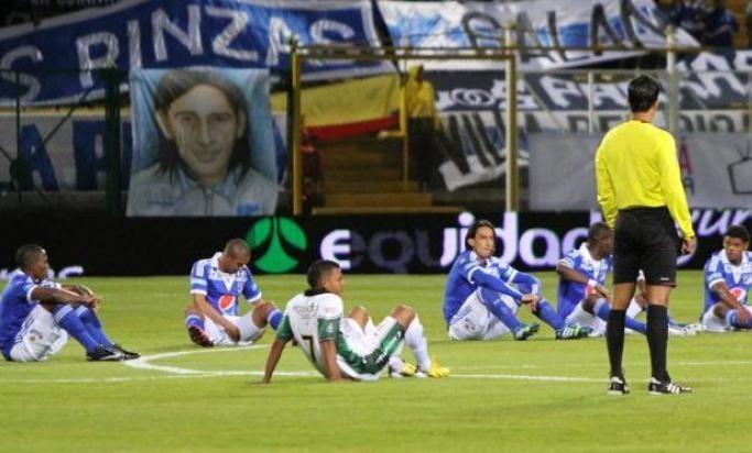 Fútbol profesional colombiano se va a paro desde el 3 de noviembre