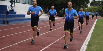 Hombres y mujeres de acero en el Iroman 70:3 Cartagena 2019.