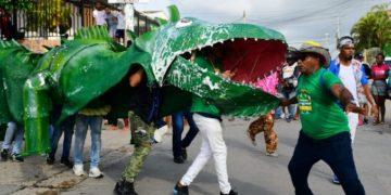 «La Iguana» de la Escuela Taller se lució en el Cabildo de Getsemaní.