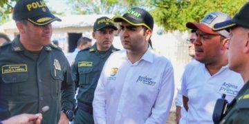 Primera Caravana por la seguridad ciudadana en Arjona, Bolívar.