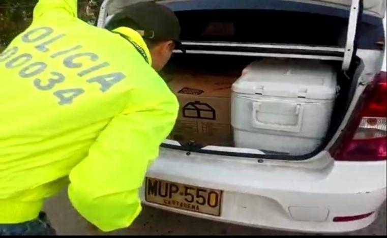 Caen otros 150 kilos de cocaína en Cartagena.