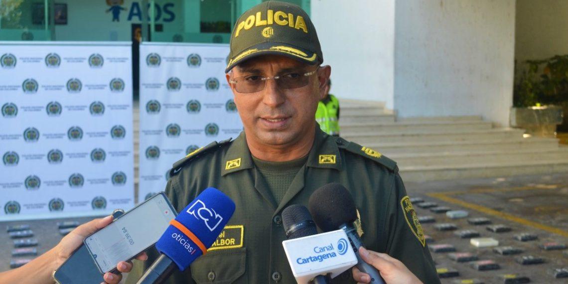 Caen 206 kilos de cocaína en Cartagena.