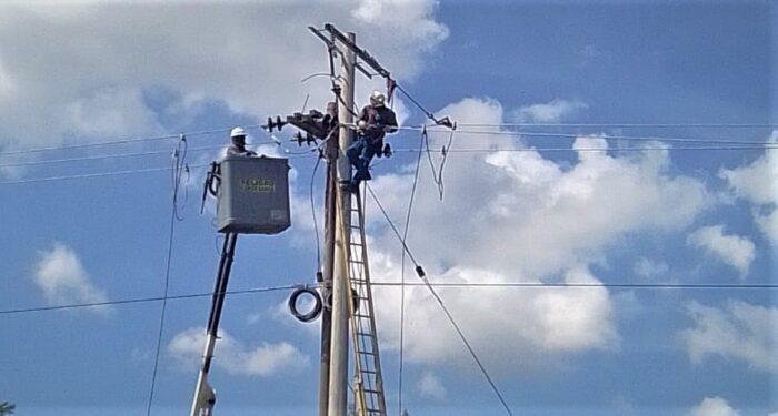 Electricaribe continúa el plan de optimización de redes en el departamento de Bolívar.