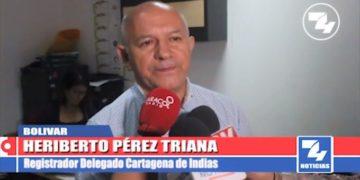 Continúa proceso de prueba anticipada para verificar votación de alcaldía en Cartagena.