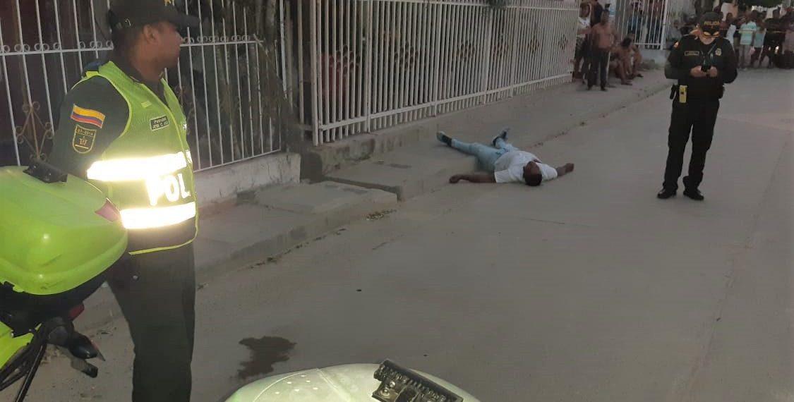 Otro delincuente fue abatido en Cartagena.