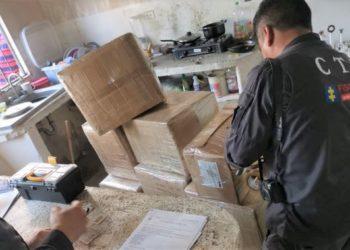 Incautan 322 kilos de cocaína en Cartagena.