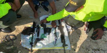 Hallan armas del Clan del Golfo en un barrio de Cartagena.