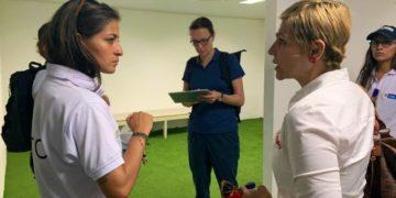 La FIFA y Mindeportes visitan escenarios deportivos en Cartagena.