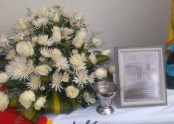 Reconocen trayectoria de un Policía asesinado en Bolívar.