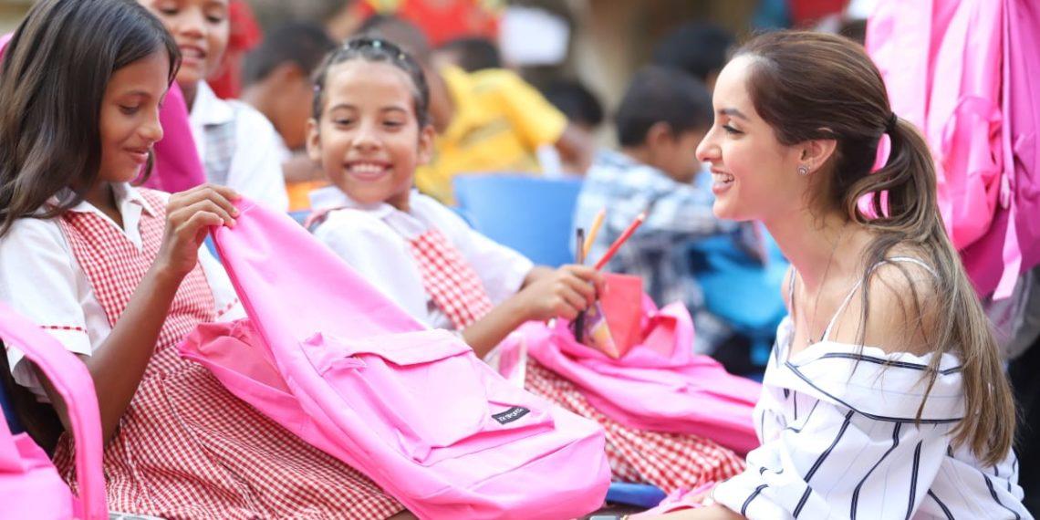 Campaña «Primero al Colegio» llegó a San Fernando y Mompox.